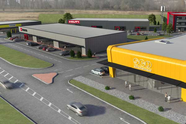 Visualisierung ATC-Business-Park-Nord